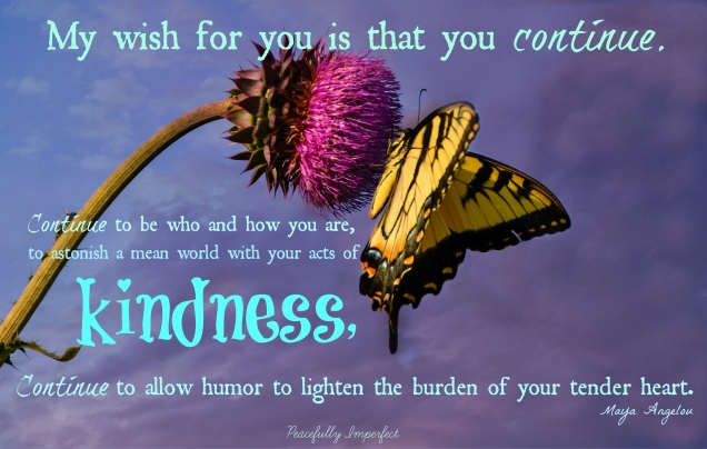 Maya Angelou Kindness