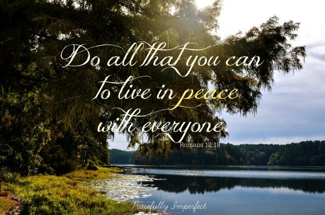 Peace verse
