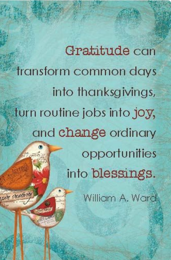 Gratitude 30 days